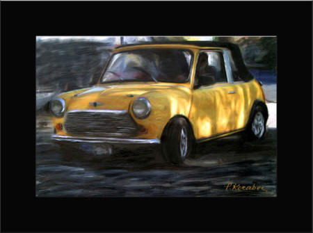 Abstract art Car Mini 2 (450 x 335)