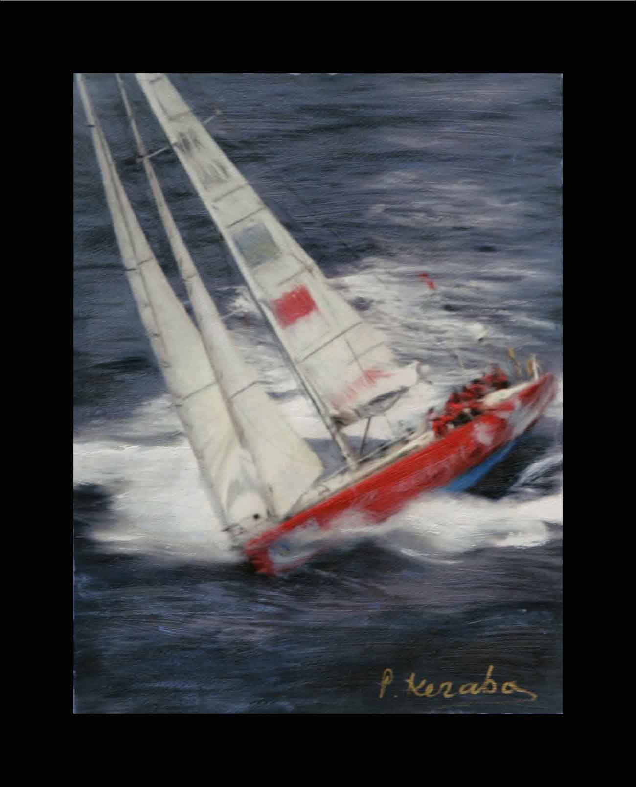 sailing_pavlos_kerabos paintings
